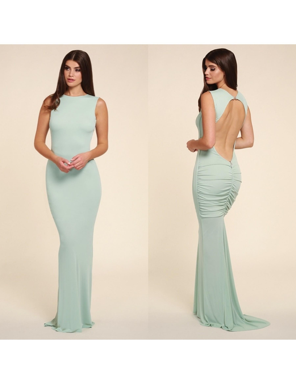 Bella Evening Fishtail Dress