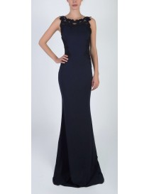 Jersey Fitted Evening Dress