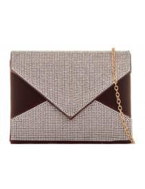 Black/Silver Clutch Bag
