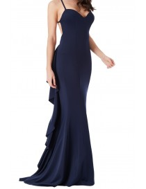Backless Evening Dress