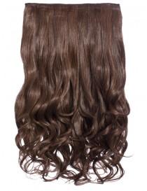 Warm Brunette Curly