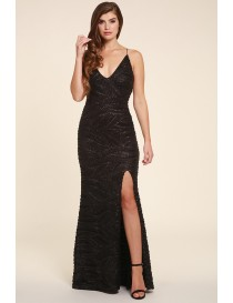 Gia Black Luxury Evening Gown