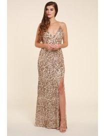 Gold Sparkle Evening dress