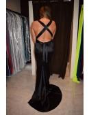 Black Full Sequin Evening Long Dress