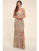 Gold Sparkle Evening dress