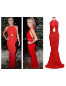fishtail slinky Evening Dress