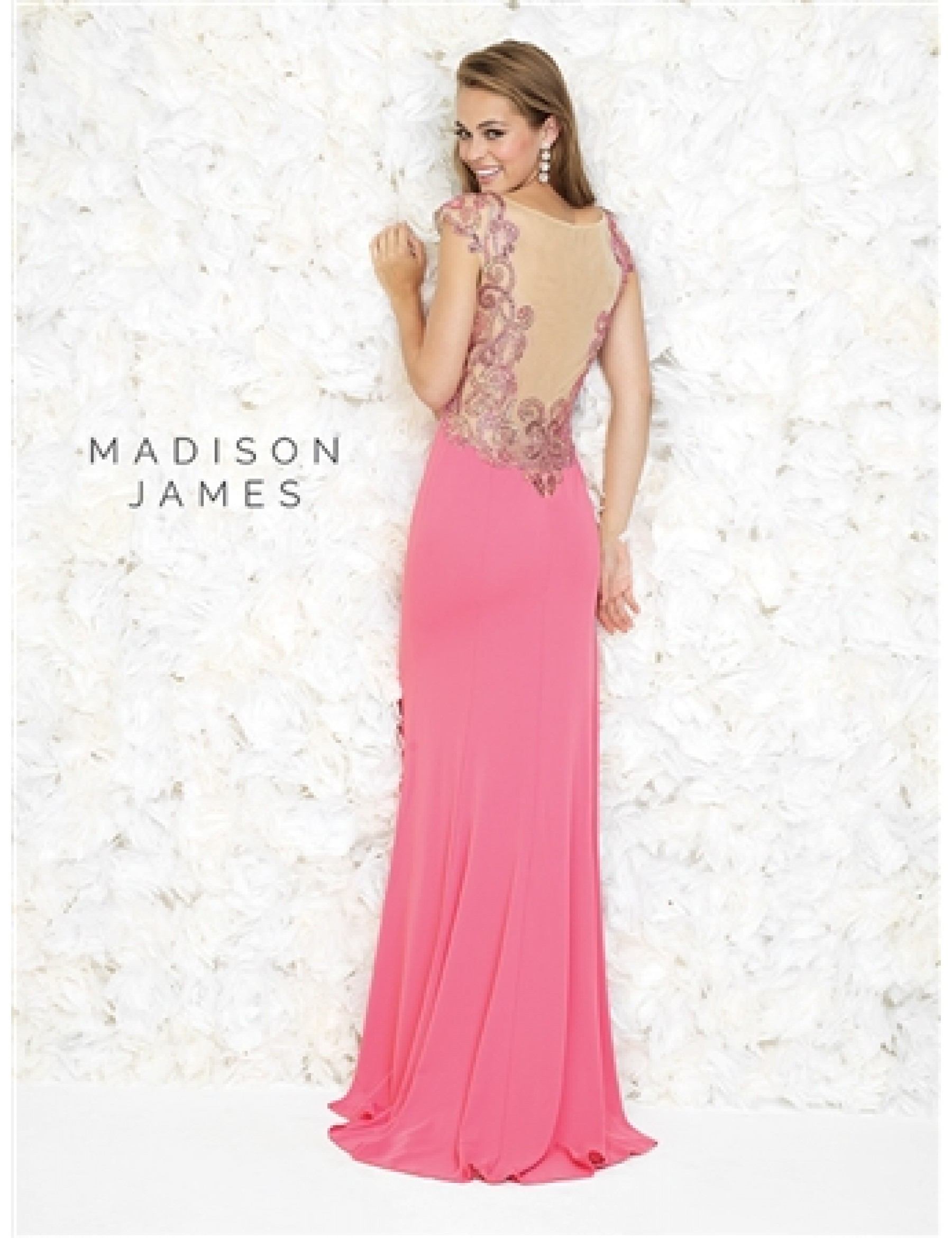 Madison James by Allure Black Evening Dress - 3