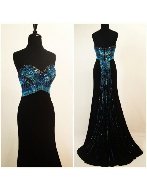 Tony Bowls Le Gala 115545 Beaded Jersey Dress - 3