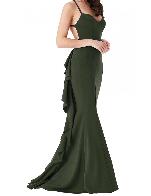 Backless Evening Dress