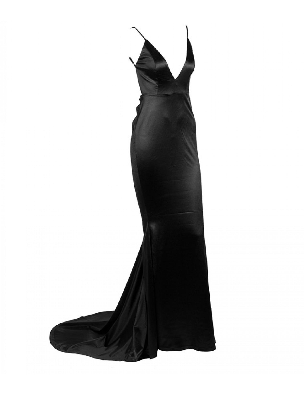 Nicole M Gown - Black
