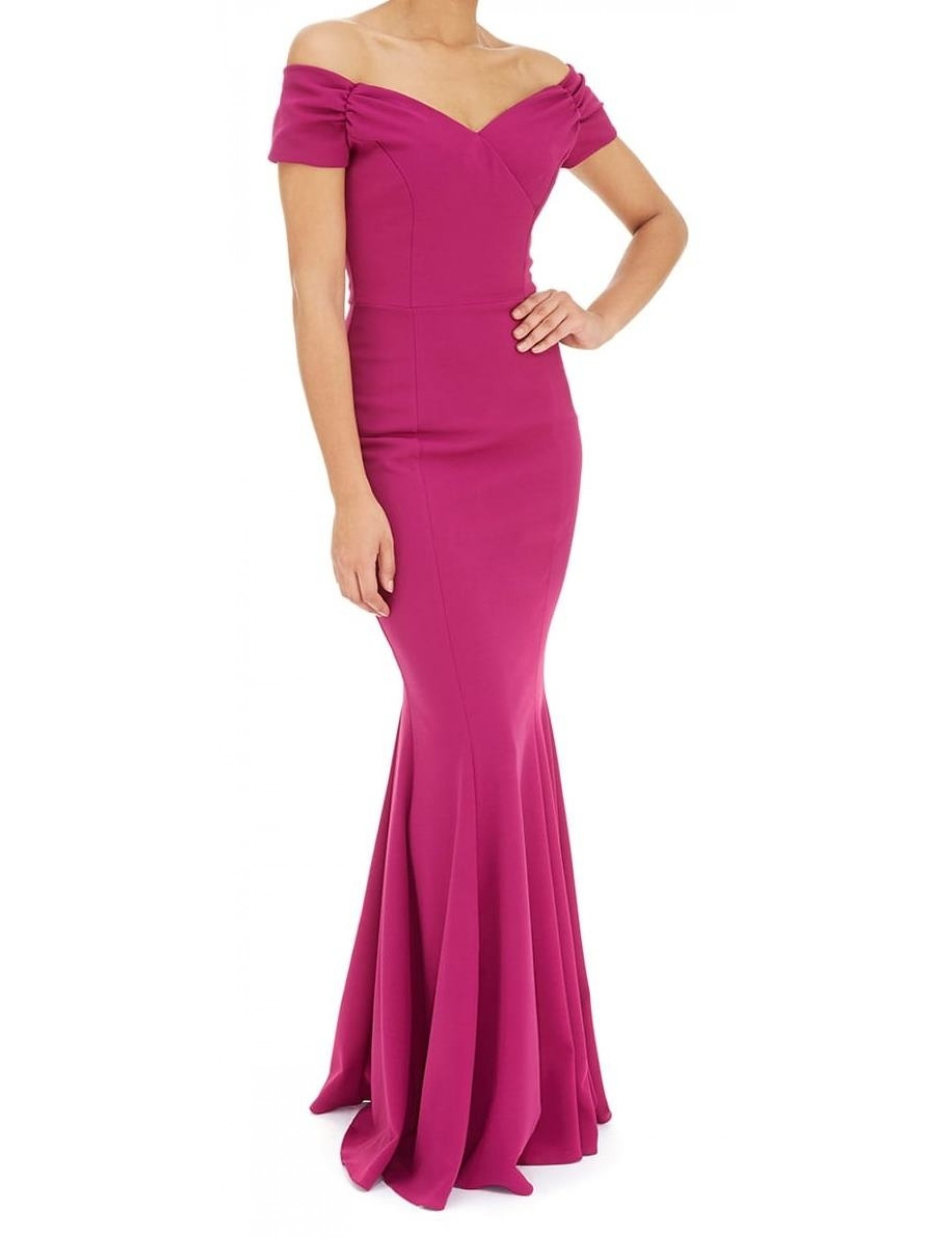 Fishtail Evening Dress